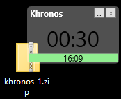 Khronos screen